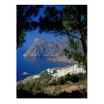 Isla de Santorini Postal