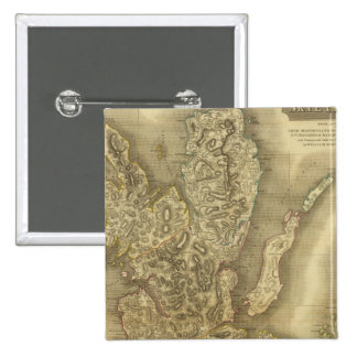 Isla de Skye Pin Cuadrada 5 Cm