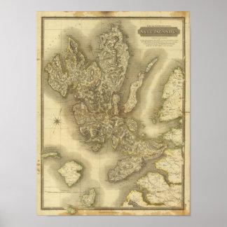 Isla de Skye Póster