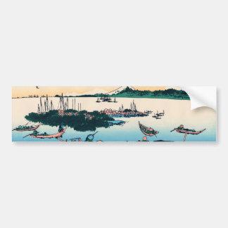 Isla de Tsukada en la provincia de Musashi Pegatina Para Auto