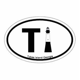 Isla de Tybee Escultura Fotográfica