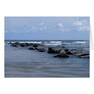 Isla de Tybee Tarjeta De Felicitación