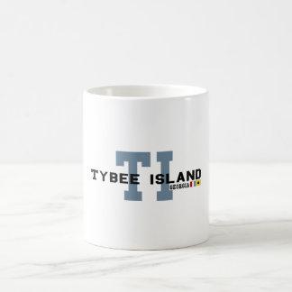 Isla de Tybee Tazas De Café