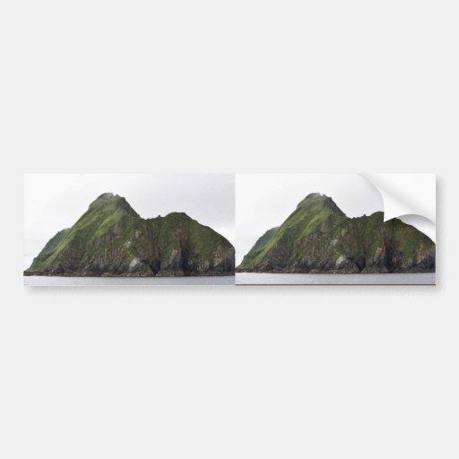 Isla de Ulak Etiqueta De Parachoque