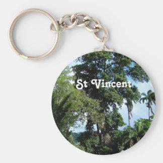 Isla de Vincent de santo Llavero
