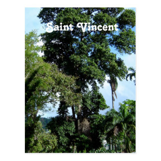 Isla de Vincent de santo Tarjeta Postal