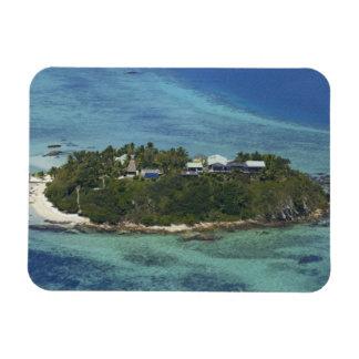 Isla de Wadigi, islas de Mamanuca, Fiji 2 Imán De Vinilo