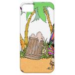 Isla del alcohol de Tiki iPhone 5 Protectores