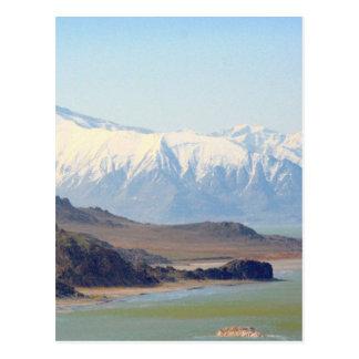 Isla del antílope en el Great Salt Lake Postal