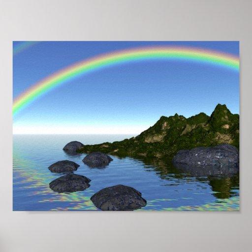 isla del arco iris posters