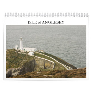 ISLA del calendario de ANGLESEY