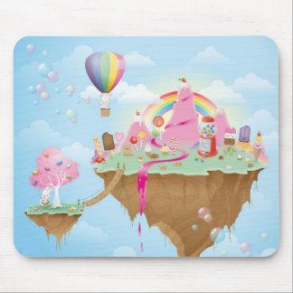 Isla del caramelo alfombrilla de raton