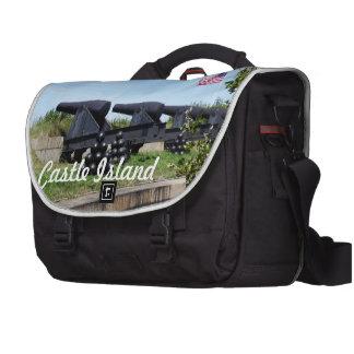 Isla del castillo bolsas para ordenador