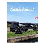 Isla del castillo postales