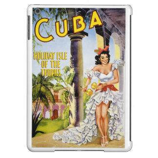 Isla del día de fiesta de Cuba del poster del Funda Para iPad Air