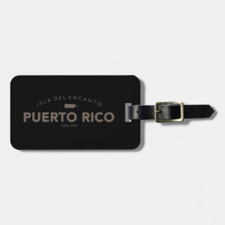 Isla del Encanto, Puerto Rico Etiquetas Bolsa