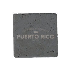 Isla Del Encanto, Puerto Rico Map Stone Magnet at Zazzle