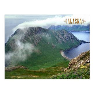 Isla del este de Amatuli, islas estériles, Alaska Tarjeta Postal