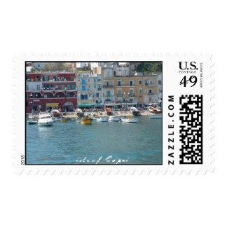 Isla del franqueo de Capri