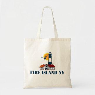 Isla del fuego bolsa tela barata