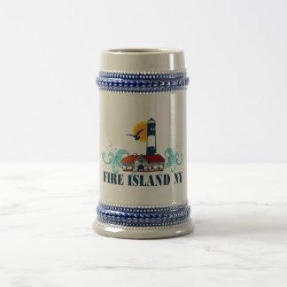 Isla del fuego jarra de cerveza