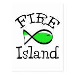 Isla del fuego postal