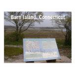 Isla del granero, Connecticut Tarjetas Postales