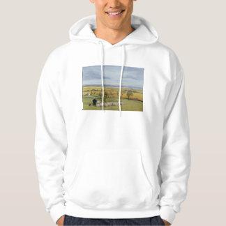 Isla del granjero de las ovejas de Sheppey Sudadera Con Capucha
