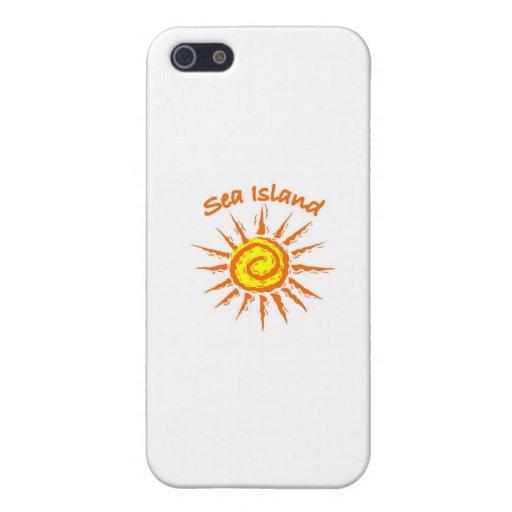 Isla del mar, Georgia iPhone 5 Carcasa