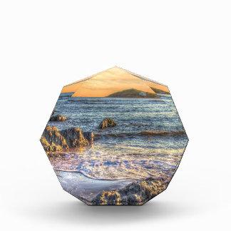Isla del municipio escocés del ornamento de la tab
