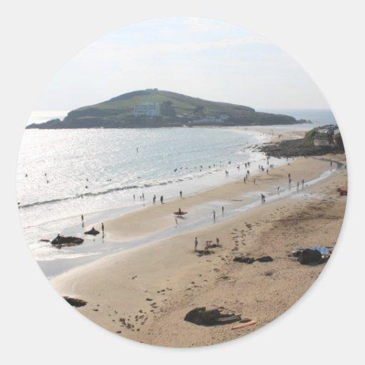 Isla del municipio escocés, Devon Etiqueta