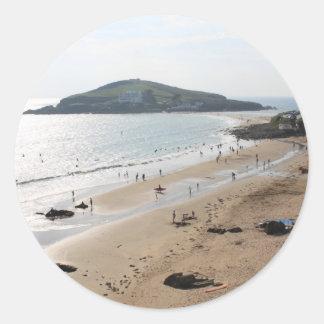 Isla del municipio escocés Devon Etiqueta