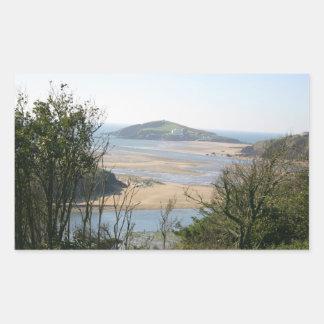 Isla del municipio escocés rectangular altavoz