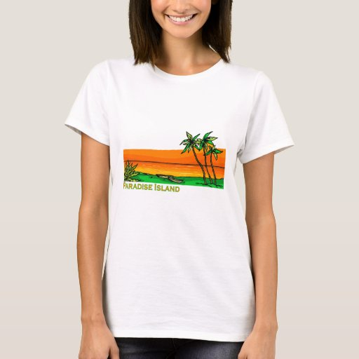 Isla del paraíso, Bahamas Playera