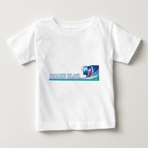Isla del paraíso, Bahamas T Shirts