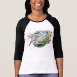 Isla del paraíso de la Mujer Maravilla Camiseta