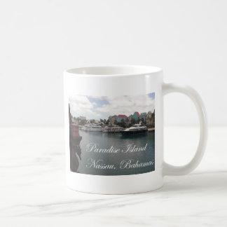 Isla del paraíso taza de café