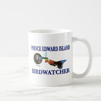 Isla del Principe Eduardo Birdwatcher Tazas
