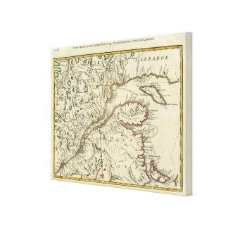 Isla del Principe Eduardo, Nuevo Brunswick Impresión En Lienzo Estirada