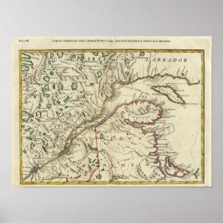 Isla del Principe Eduardo, Nuevo Brunswick Póster