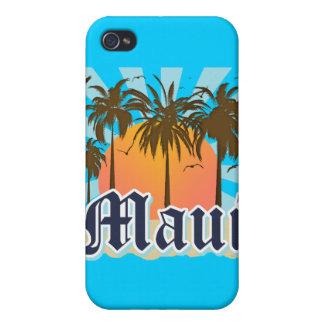 Isla del recuerdo de Maui Hawaii iPhone 4/4S Funda