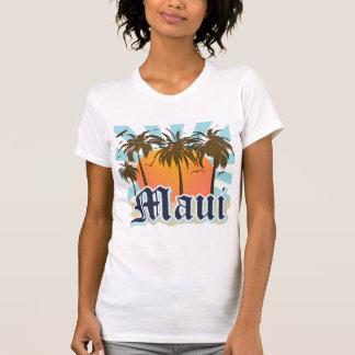 Isla del recuerdo de Maui Hawaii T-shirts