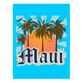 Isla del recuerdo de Maui Hawaii Tarjeta Postal