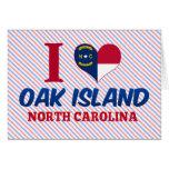 Isla del roble, Carolina del Norte Felicitacion