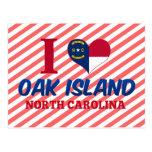 Isla del roble, Carolina del Norte Postal