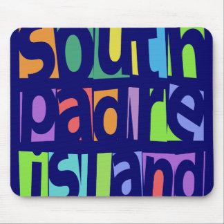 Isla del sur de Padre Alfombrillas De Ratones