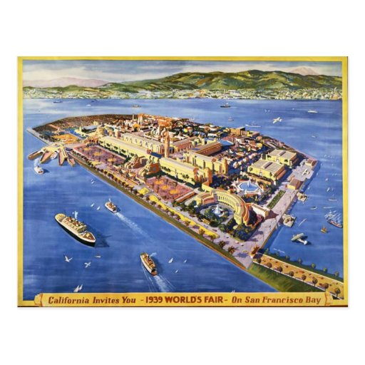 Isla del tesoro de San Francisco Tarjetas Postales