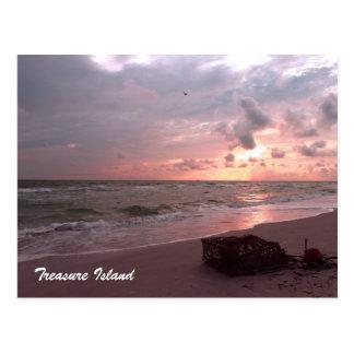 Isla del tesoro, la Florida Postal
