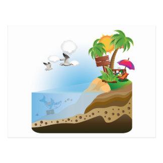 Isla del tesoro postal