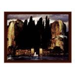 Isla del (v) muerto, por Böcklin Arnold Postales
